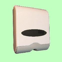 Диспенсер для листовых полотенец Z (2 пачки) в327*ш261*гл116мм пластик с ключом 603W