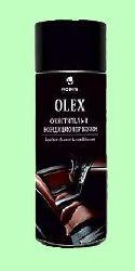 Полироль OLEX auto  400мл  чистящий кондиционер для кожи с блеском Аэрозоль  643-04