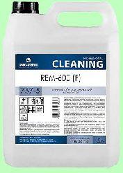 Моющий REM-600F 5л концентрат (1:100) универсальный пенный обезжириватель усиленный против мазута, битума, масел pH11 757-5