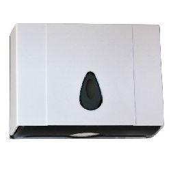 Диспенсер для листовых полотенец Z (1 пачка) в211*ш260*гл100мм пластик с ключом