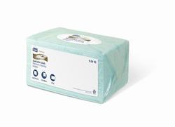 Нетканый материал TORK Premium САЛФЕТКА для чувствительной очистки поверхностей W4 Top Pak System  60-лист 1-сл 27х38  ГОЛУБОЙ  (ПАЧКА) 1/10