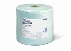 Нетканый материал TORK Premium САЛФЕТКА для чувствительной очистки поверхностей W1/W2 System 500-лист 1-сл 190/27 ГОЛУБОЙ (РУЛОН)  1/1