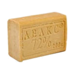 Мыло хозяйственное 72%  200г АВАКС  1/60