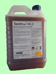 БИОМОЛ КС-3 5л   Щелочное пенное средство для мойки пищевых производств (на основе ЧАС)