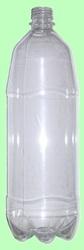 Бутылка ПЭТ 1л с крышкой  Прозрачная