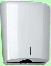 Диспенсер для листовых полотенец V  285*375*135мм Белый