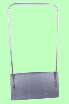 Движок алюминиевый П-образная ручка 750*500*1,8мм