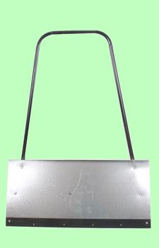 Движок алюминиевый П-образная ручка 750*500*1,8мм с накладкой