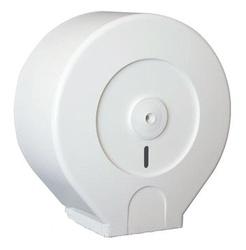 Диспенсер для туалетной бумаги d=273мм  (т/б до d=24см ->200м) пластикм с ключом
