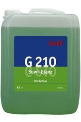 G 210 Suwi-Glanz. Профессиональное концентрированное моющее и ухаживающее средство на основе полимеров и восков. Уровень рН (концентрат): 8-9  10л