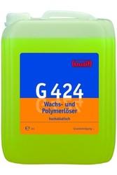G 424 Wachs-und Polymerloser. Профессиональное концентрированное сильнощелочное средство для удаления воска и полимерных покрытий. Уровень рН (концентрат): 13.5-14   10л