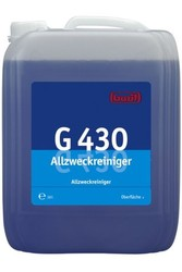 G 430 Allzweckreiniger. Профессиональное концентрированное универсальное щелочное чистящее средство. Уровень рН (концентрат): 12-13  10л