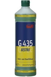 G 435 Bistro. Профессиональное концентрированное сильнодействующее щелочное чистящее средство. Уровень рН (концентрат): 12-13.5   1л