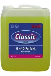 G 440 Perfekt. Профессиональное концентрированное универсальное сильнодействующее щелочное чистящее средство. Уровень рН (концентрат): 13-14   10л