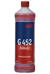 G 452 Keim-Ex. Профессиональное концентрированное деликатное ухаживающее моющее средство. Уровень рН (концентрат): 4.5-6.5   1л