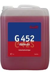 G 452 Keim-Ex. Профессиональное концентрированное деликатное ухаживающее моющее средство. Уровень рН (концентрат): 4.5-6.5  10л