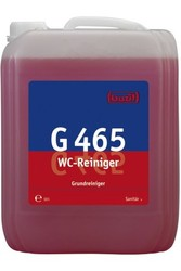 G 465 WC-Reiniger. Профессиональное концентрированное густое чистящее средство на основе соляной кислоты. Уровень рН (концентрат): 0-0.5   10л