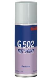 G 502 Buz-Point. Профессиональное специализированное чистящее средство для текстильных покрытий и материалов, устойчивых к растворителям. Уровень рН: не применимо   0,200л