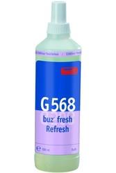 G 568 Buz fresh Refresh. Профессиональный специализированный готовый к использованию освежитель воздуха с функцией продолжительного нейтрализатора запаха. Уровень рН: не применимо   0,5л
