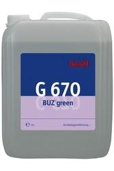 G 670 Buz green. Профессиональное концентрированное чистящее бактерицидное и противогрибковое средство. Уровень рН (концентрат): 13.5  10л
