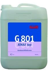 G 801 РИНАКС топ. Крем-паста жидкая для мытья рук  10л