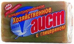 Мыло хозяйственное 72% АИСТ с глицерином 150г  (1кор/60шт)