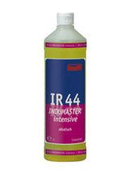 IR 44 Indumaster intensive. Профессиональное концентрированное сильнодействующее щелочное чистящее средство. Уровень рН (концентрат): 11-12   1л