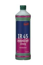 IR 45 Indumaster strong. Профессиональное концентрированное сильнодействующее щелочное чистящее средство. Уровень рН (концентрат): 13   1л