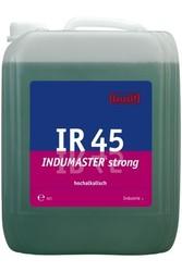 IR 45 Indumaster strong. Профессиональное концентрированное сильнодействующее щелочное чистящее средство. Уровень рН (концентрат): 13  10л