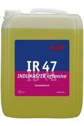 IR 47 Indumaster offensive. Профессиональное концентрированное сильнодействующее щелочное чистящее средство. Уровень рН (концентрат): 13.4-13.8   10л
