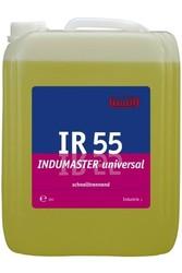 IR 55 Indumaster universal. Профессиональное концентрированное универсальное слабощелочное чистящее средство. Уровень рН (концентрат): 9.5-10   10л