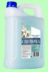 Мыло жидкое КРЕМОНА крем Магнолия 5л