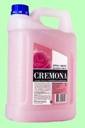 Мыло жидкое КРЕМОНА крем Розовое масло 5л