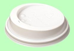 Стакан: Крышка для стакана 'ХУХТАМАКИ' с носиком белая 64мм TL64 (для SP47) 1/100/1000