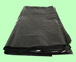 Мешки для мусора ПВД 120л 70*110см  40мкм чёрные 10шт/пласт 06189  10пласт/кор
