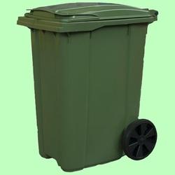 Контейнер мусорный на колесах 360л 625*860*1089см  MGB-360