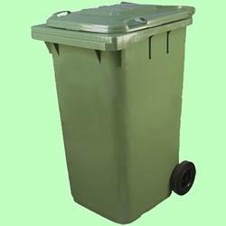 Контейнер мусорный на колесах 240л 580*730*1060см  MKT-240
