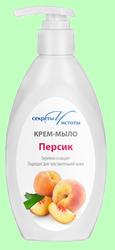 Мыло-крем жидкое СЕКРЕТЫ ЧИСТОТЫ  Персик  250мл  с дозатором