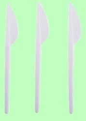 Нож столовый компакт белый Диапазон 1/100/2500
