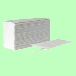 Полотенца V-сложение 250л 1слой 24*23см Белые целлюлоза ХХ V250-1ц 1/20