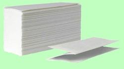 Полотенца Z-сложение 200л 2слоя 24*23см Белые целлюлоза ХХ Z200-2ц  1/20