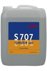 S 707 Corridor unic. Профессиональное концентрированное средство для основательного мытья водостойких напольных покрытий. Уровень рН (концентрата): 10   10л