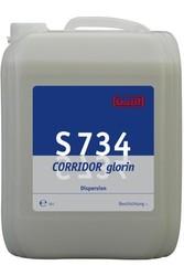 S 734 Corridor glorin. Профессиональное универсальное полимерное покрытие для водостойких поверхностей. Уровень рН (концентрат): 8.5-9   10л