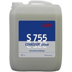 S 755 Corridor stone. Профессиональное полимерное покрытие для покрытий из натурального камня. Уровень рН (концентрат): 8.8-9.4   10л