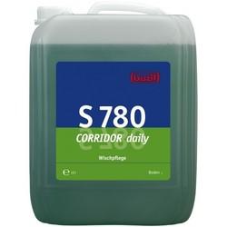 S 780 КОРИДОР® дэйли. Профессиональное концентрированное моющее и ухаживающее средство на основе водорастворимых полимеров. Уровень рН (концентрат): 8-9   10л