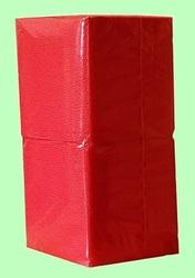 Салфетки бумажные БИГ ПАК  24*24  1слой  400лист  КРАСНЫЕ интенсив СО  1/18