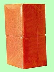 Салфетки бумажные БИГ ПАК  24*24  1слой  400лист  ОРАНЖЕВЫЕ интенсив СО  1/18