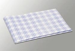Салфетка микроволоконная ТиТауэл микро 40х60см БЕЛЫЙ/СИНИЙ  (3шт/упак) (30 упак/кор)