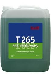 T 265 Buz-Match trendy. Профессиональное концентрированное моющее и ухаживающее средство. Уровень рН (концентрат): 7-8  10л