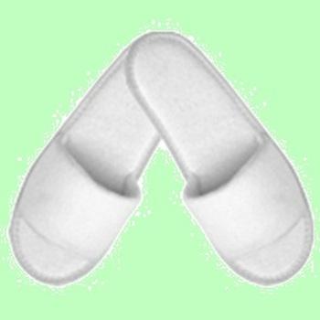 Тапочки махровые. Открытый мыс. Подошва эвапласт 3,5 мм. Стандарт  1пара